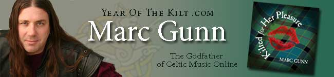 Marc Gunn - Celtic  Music, Celtic Podcaster, and Cat Lover